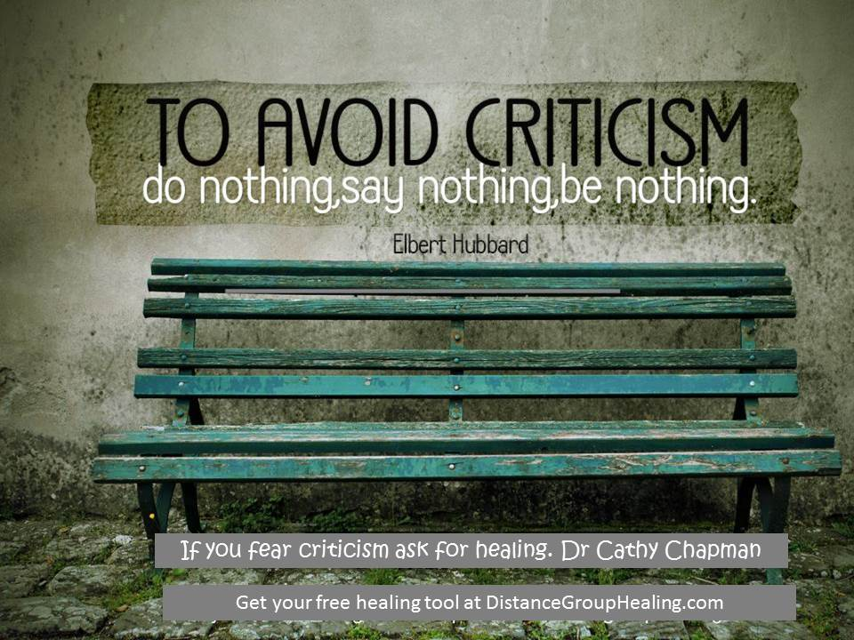 Avoiding Criticism